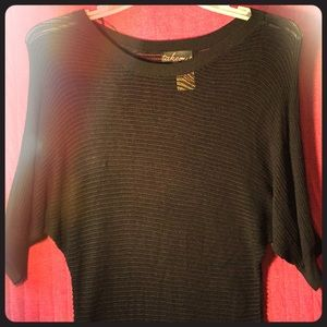Women ribbed sweater top size xtra large